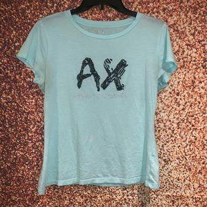 Armani Exchange beaded T-shirt